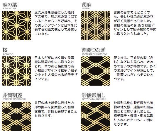 組子design 日本 伝統 模様 和 デザイン 装飾文様