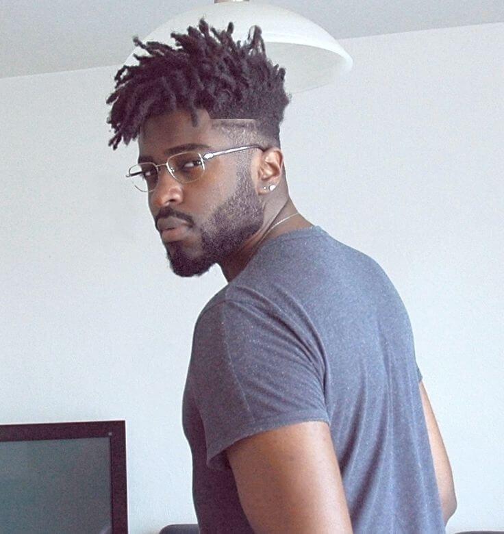 tendances les plus chaudes coiffure pour hommes noirs coupe de cheveux homme pinterest. Black Bedroom Furniture Sets. Home Design Ideas
