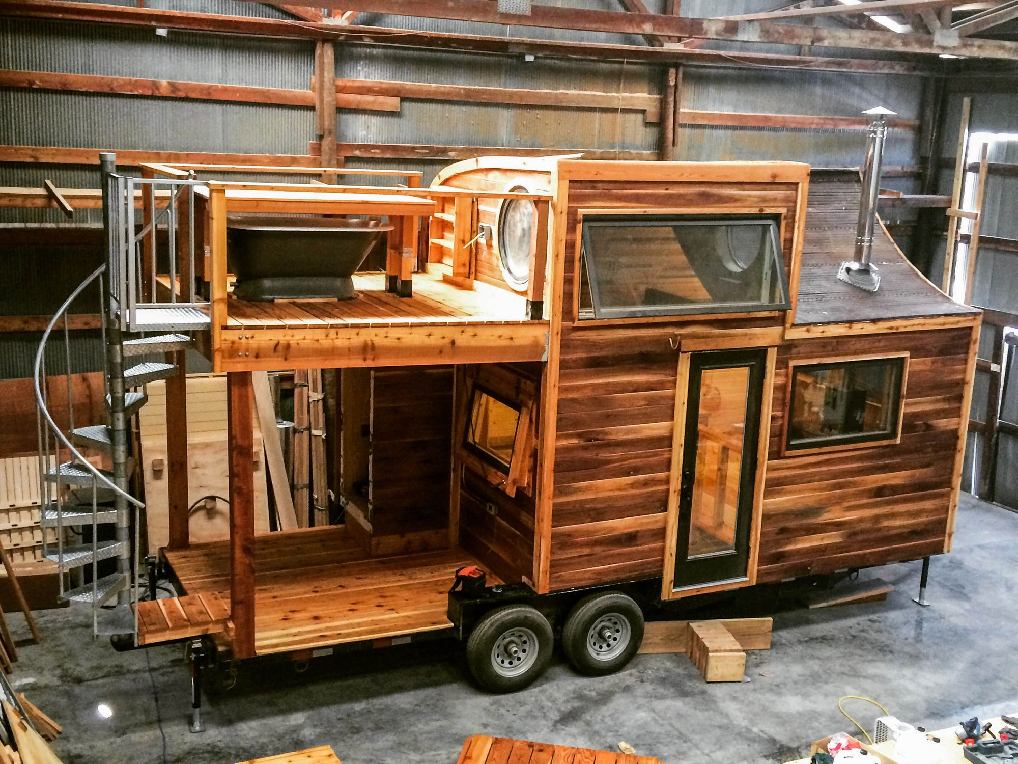 Honey On The Rock This Tiny Home Made It Ways Out To New York For