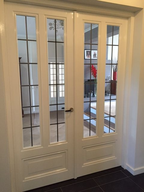 glas in lood deuren bij top deuren in barneveld   living - house