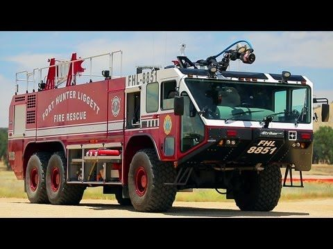 Off Road Fire Truck >> Taking A Military Fire Truck Off Road Dirt Every Day Ep