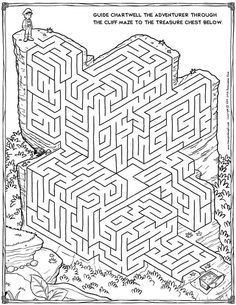 free maze printable mazes pinterest maze activities and students