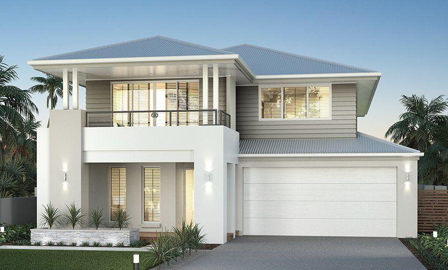 Armadale 37 home design clarendon homes letto for Facciate di case moderne
