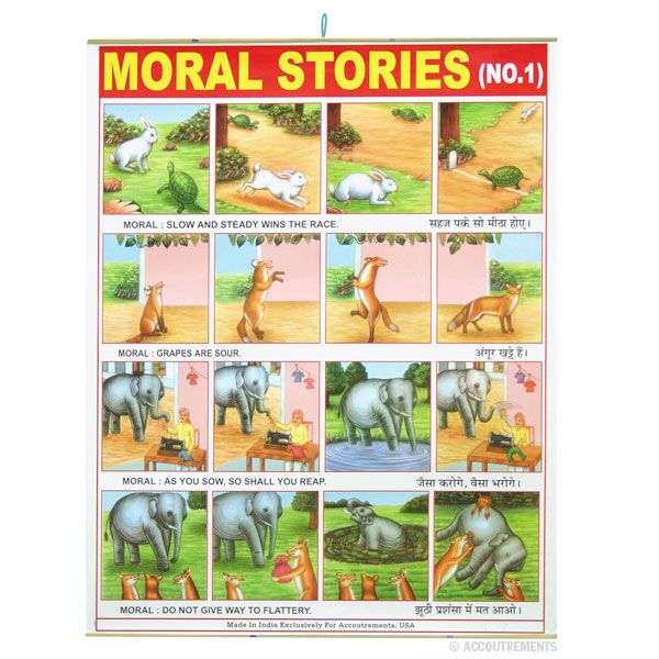 moral stories Engaging children's stories designed to encourage values like honesty, responsibility, generosity, forgiveness and more.