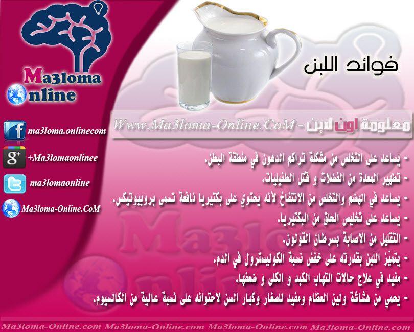 فوائد اللبن ما هى فوائد اللبن Www Ma3loma Online Com Info Ili Shopping