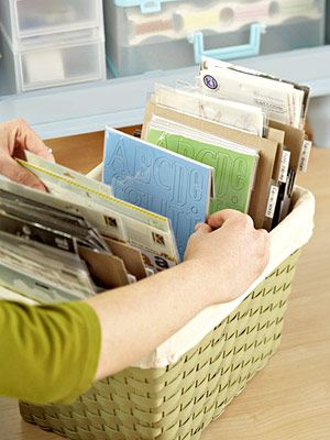 Perfect 8 Quick Ways To Use Baskets Around The House Photo Gallery
