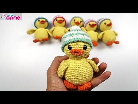 Amigurumi Anahtarlık Tarifi : Amigurumi ördek yapımı amigurumi free pattern baby duck youtube
