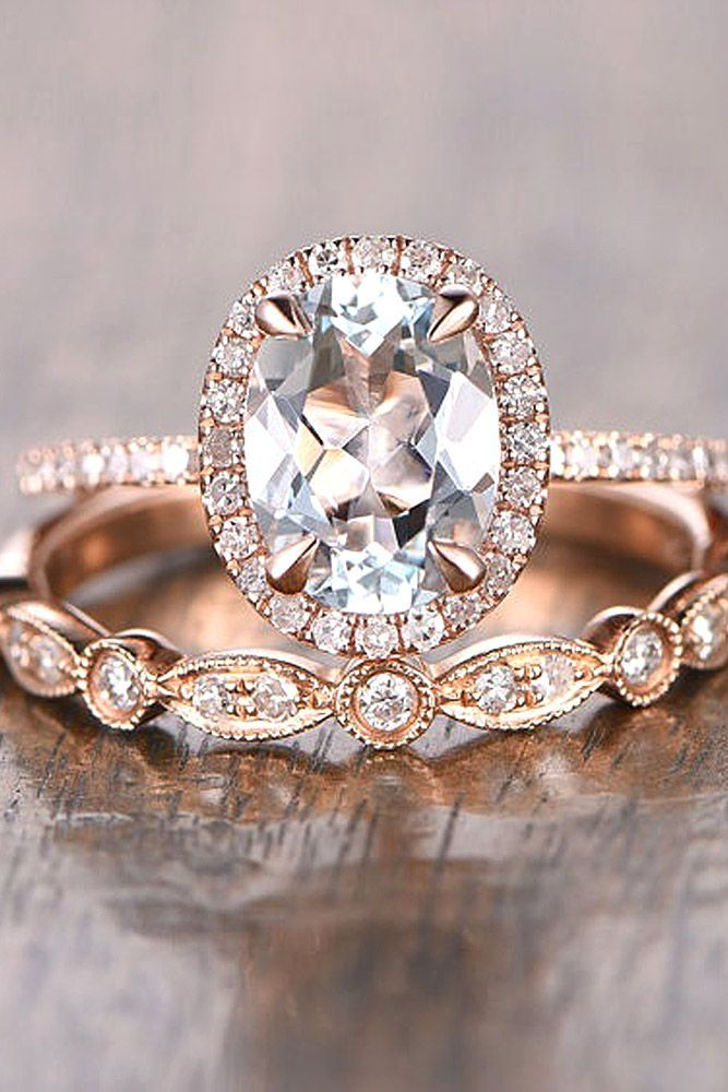 30 Halo Engagement Rings Or How To Get More Bling Halo engagement
