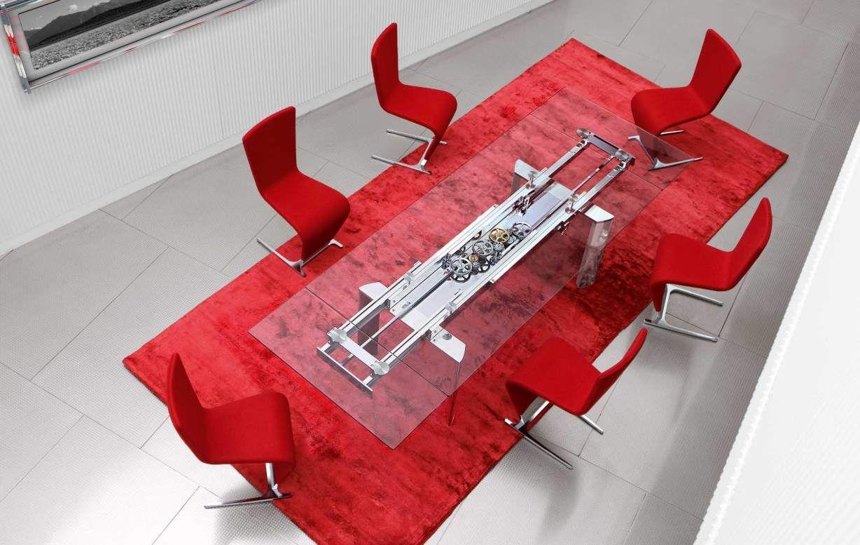 TABLE DE REPAS ASTROLAB, design Studio ROCHE BOBOIS - CHAISES ...