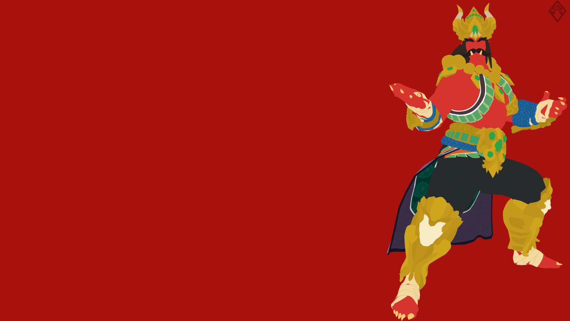 Artstation Smite Ravana Minimalist Wallpaper Jay R Minimalist Wallpaper Wallpaper Artwork