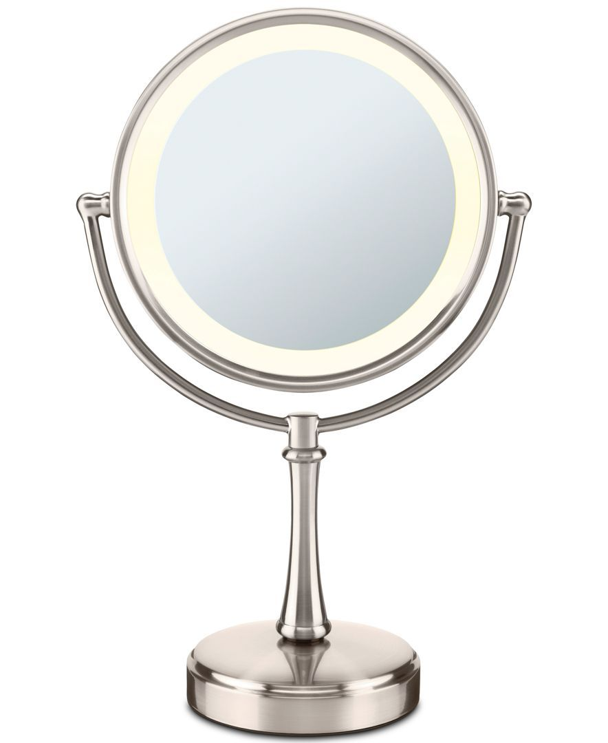 Touch Control Double Sided Lighted Makeup Mirror Makeup Mirror