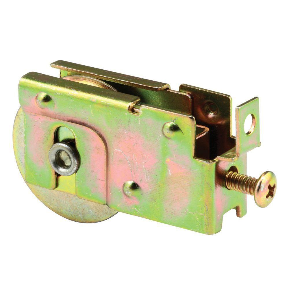 1 1 2 in steel ball bearing sliding door roller assembly