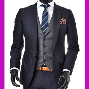 navy suits for a wedding | -NAVY-men-s-suit-sale-slim-fit-prom ...