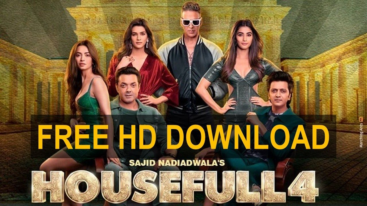 Housefull 4 Download In 2020 Housefull 4 Hd Movies Download Free Movies