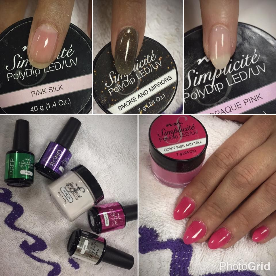 Check out NSI Nails New Dipping System | Simplicite PolyDip System ...