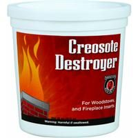 1lb Destroyer Creosote 14 By Meeco Mfg Chimney Cleaning Camp Kitchen Red Devils
