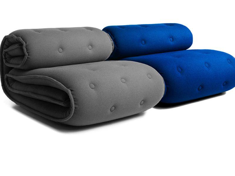 Poltrone design roulade by kibisi il sofa stile minimal for Poltrone minimal