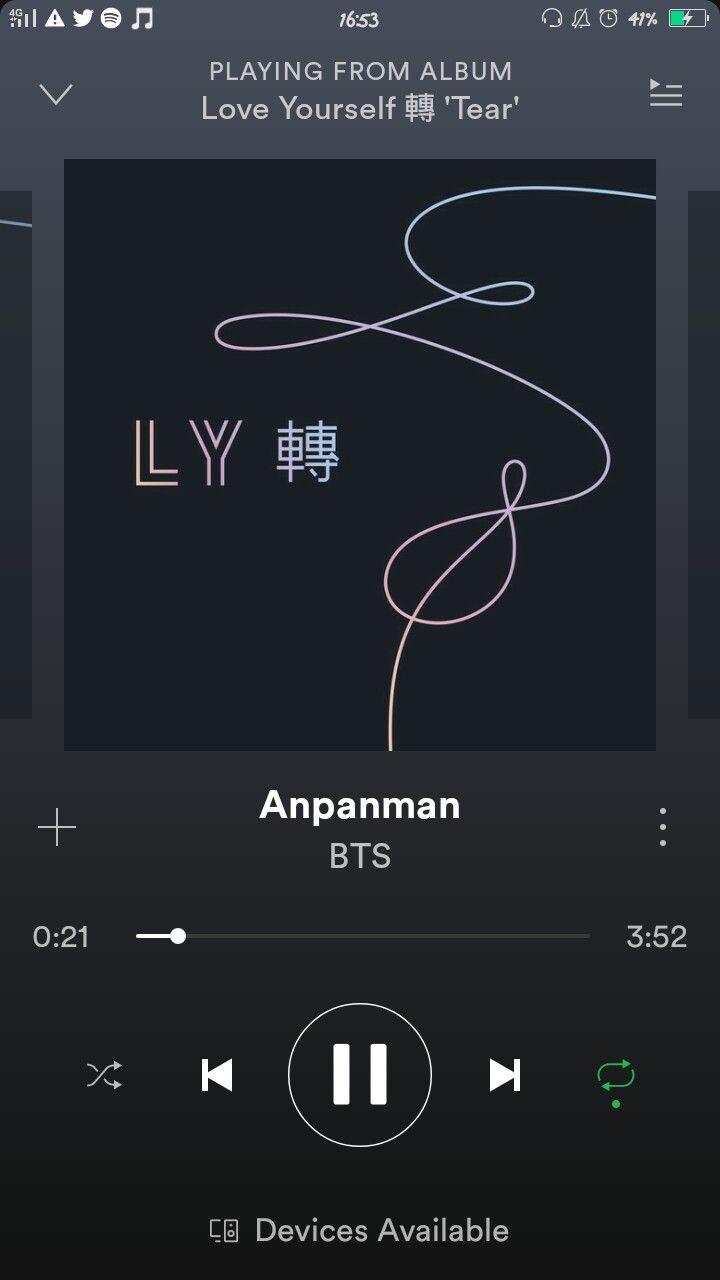 Anpanman LOVE_YOURSELF_轉_Tear | Lirik lagu, Lagu, Lirik