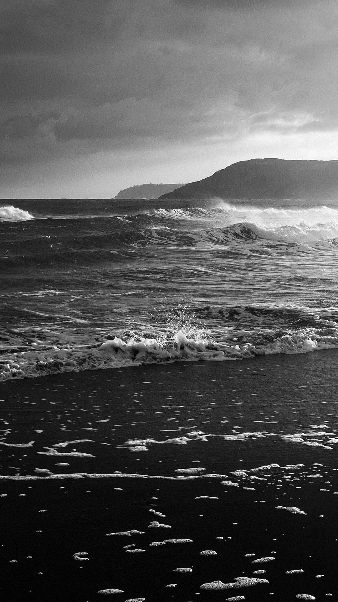 Wallpaper iphone black and white - Beach Costal Nature Sea Water Summer Flare Iphone 6 Wallpaper