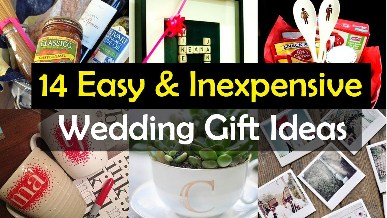 14 awesome wedding gift ideas diy wedding gifts cheap