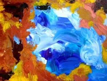 "Saatchi Art Artist Jamie Young; Painting, ""Earth"" #art"