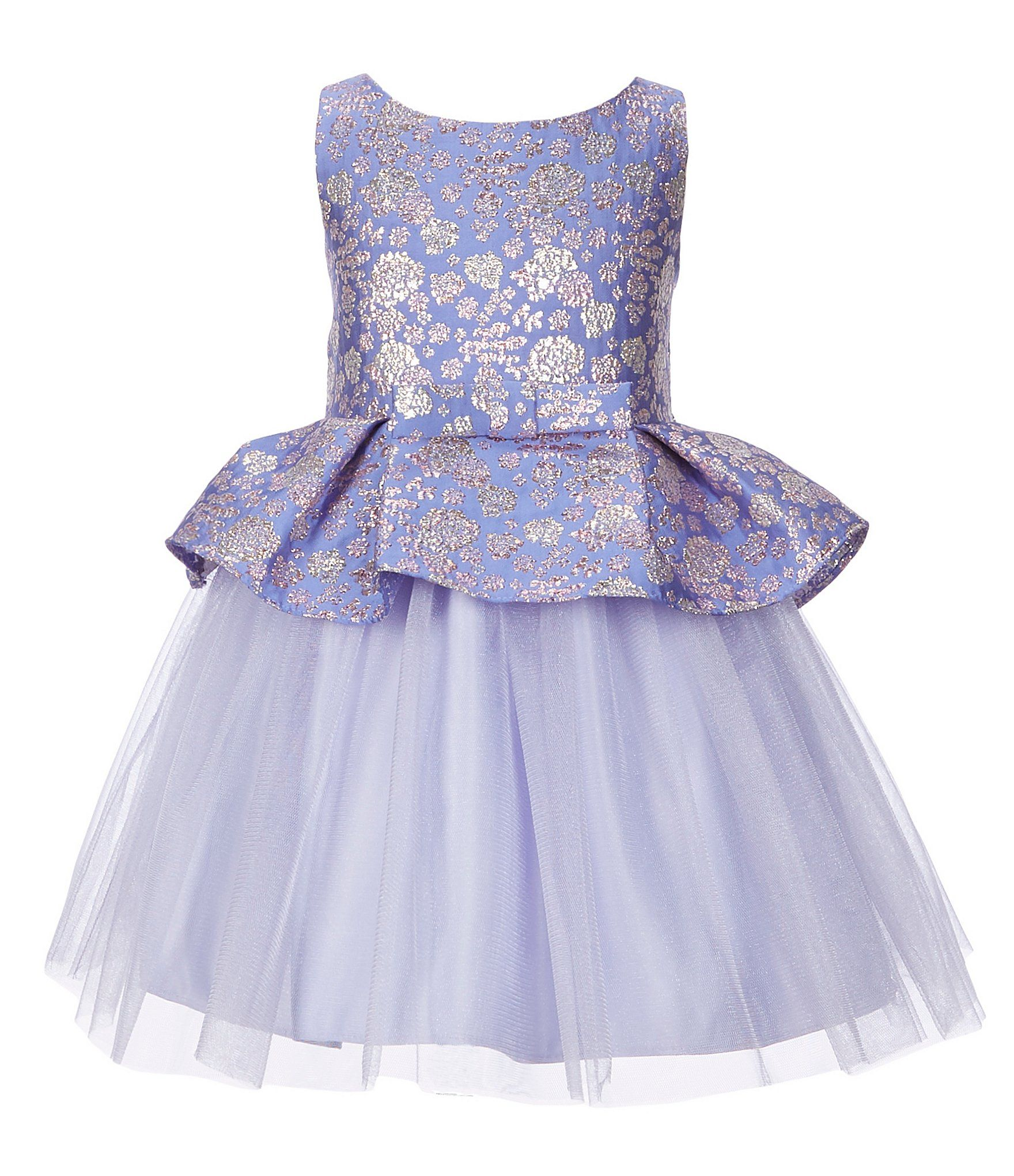 3ed29ac88d5 Shop for Sweet Kids Little Girls 2-6 Floral Metallic Peplum Fit-And-Flare  Dress at Dillards.com. Visit Dillards.com to find clothing