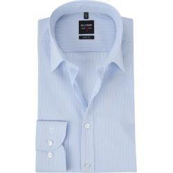 Photo of Olymp shirt level 5 stripes blue Olymp