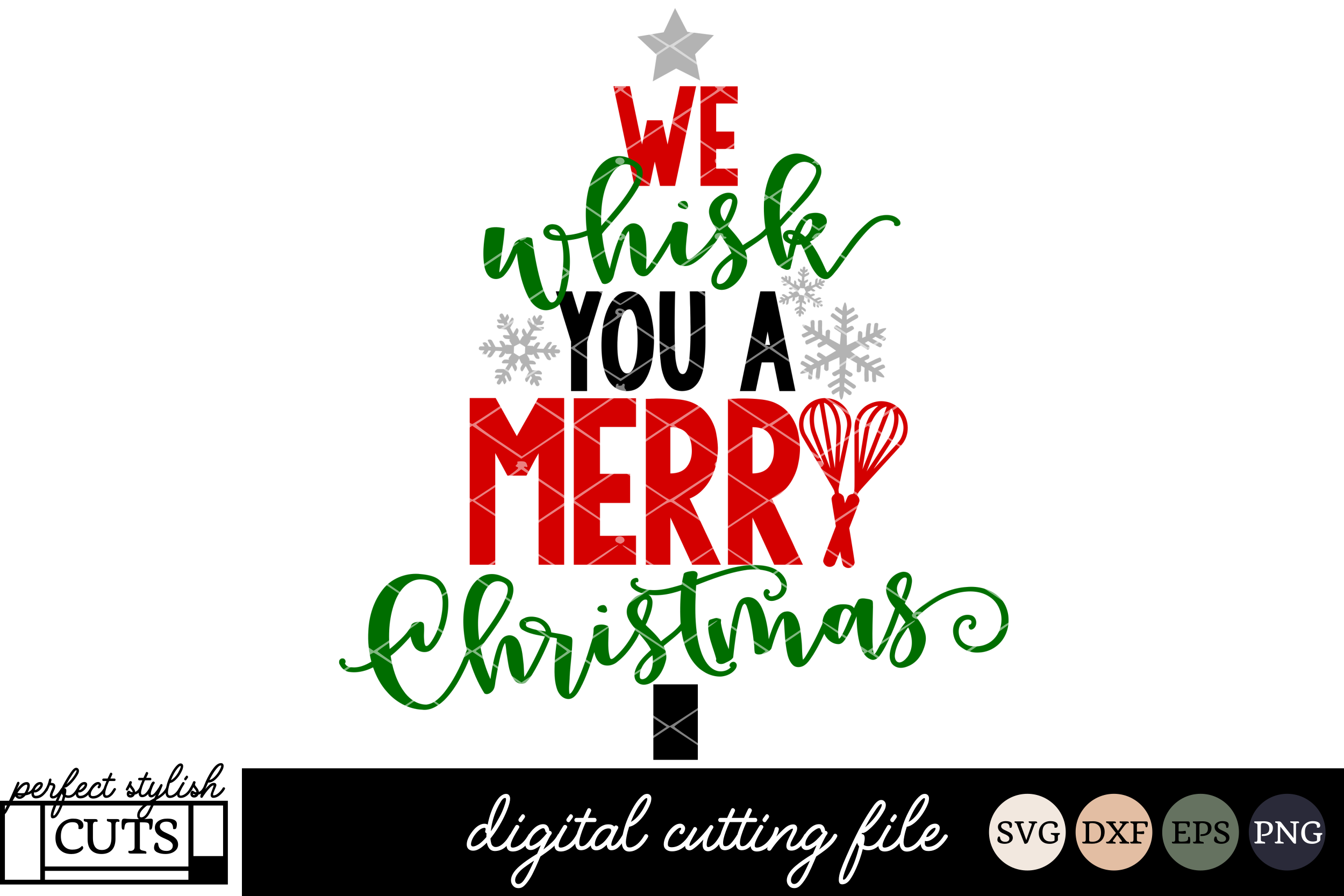 Christmas SVG We Whisk You A Merry Christmas SVG example