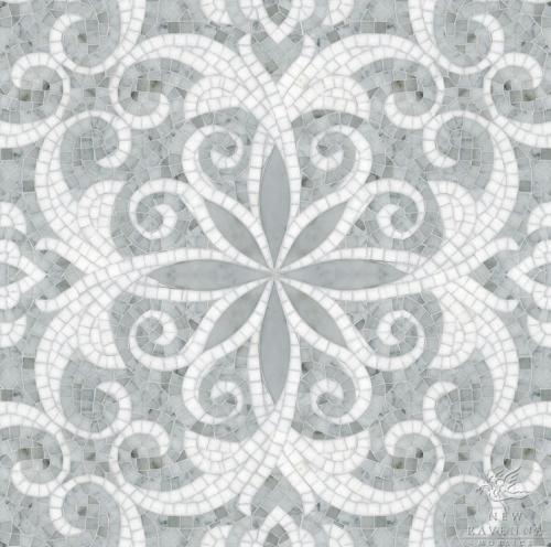 carrara_floral_mosaic_tiles