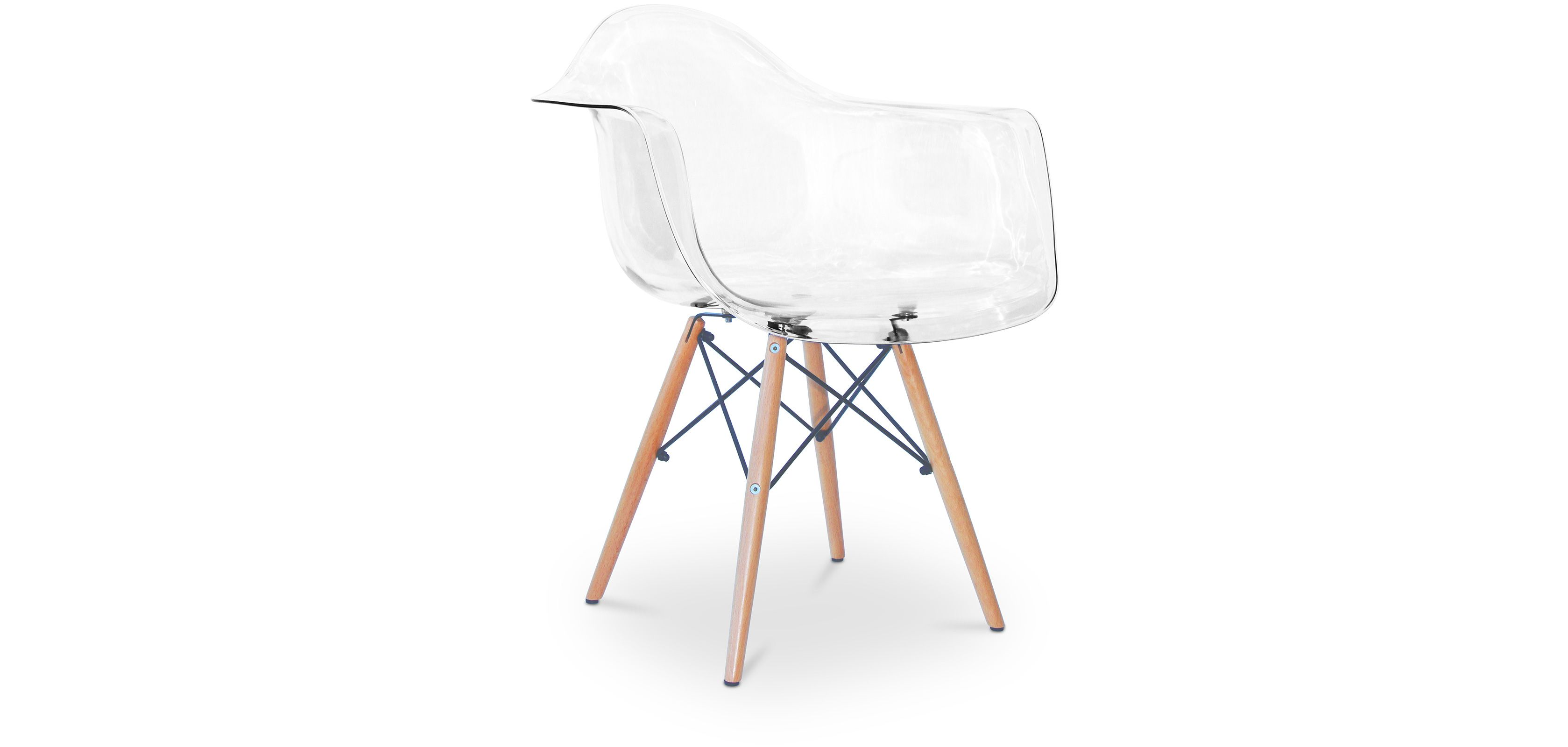 Charles Eames Stuhl Chaise Daw Charles Eames Style - Polycarbonate (mit ...