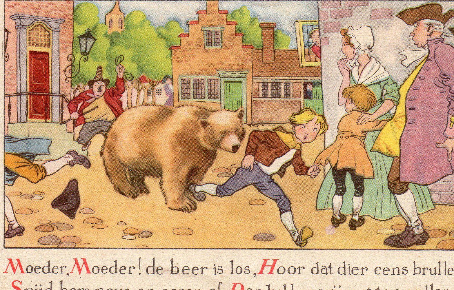 Moeder, moeder, de beer is los