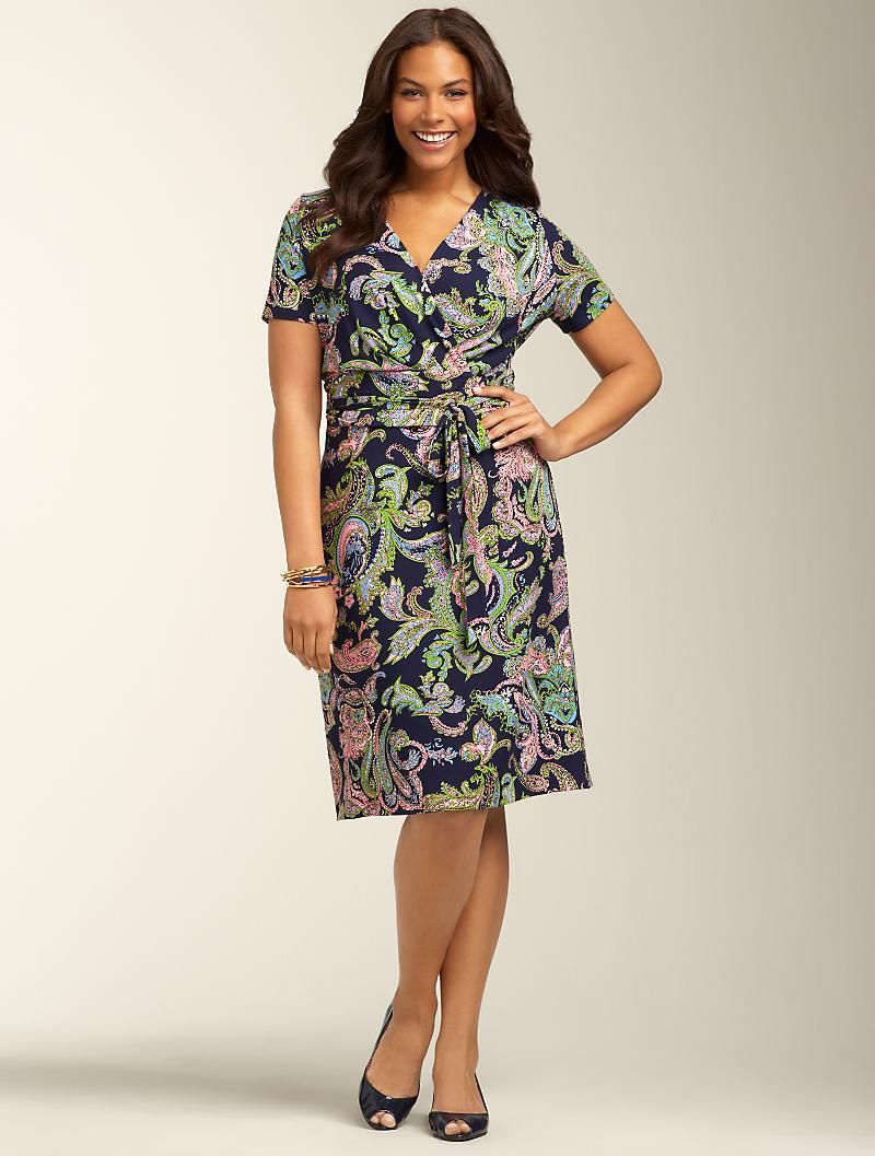 talbots online has great plus size petite dresses! talbots