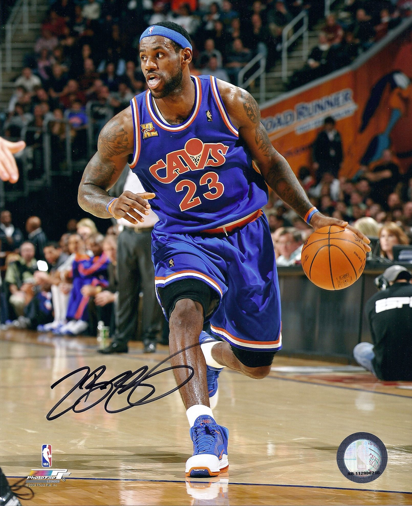 This Is For A Rare Lebron James Hand Signed Autographed 8x10 Photo With Coa With Matching Lebron James Cleveland Cavaliers Lebron James Cleveland Lebron James