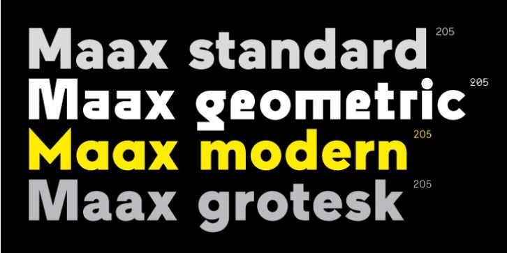 Maax font download | Fonts | Sans serif typeface, Modern typeface, Fonts