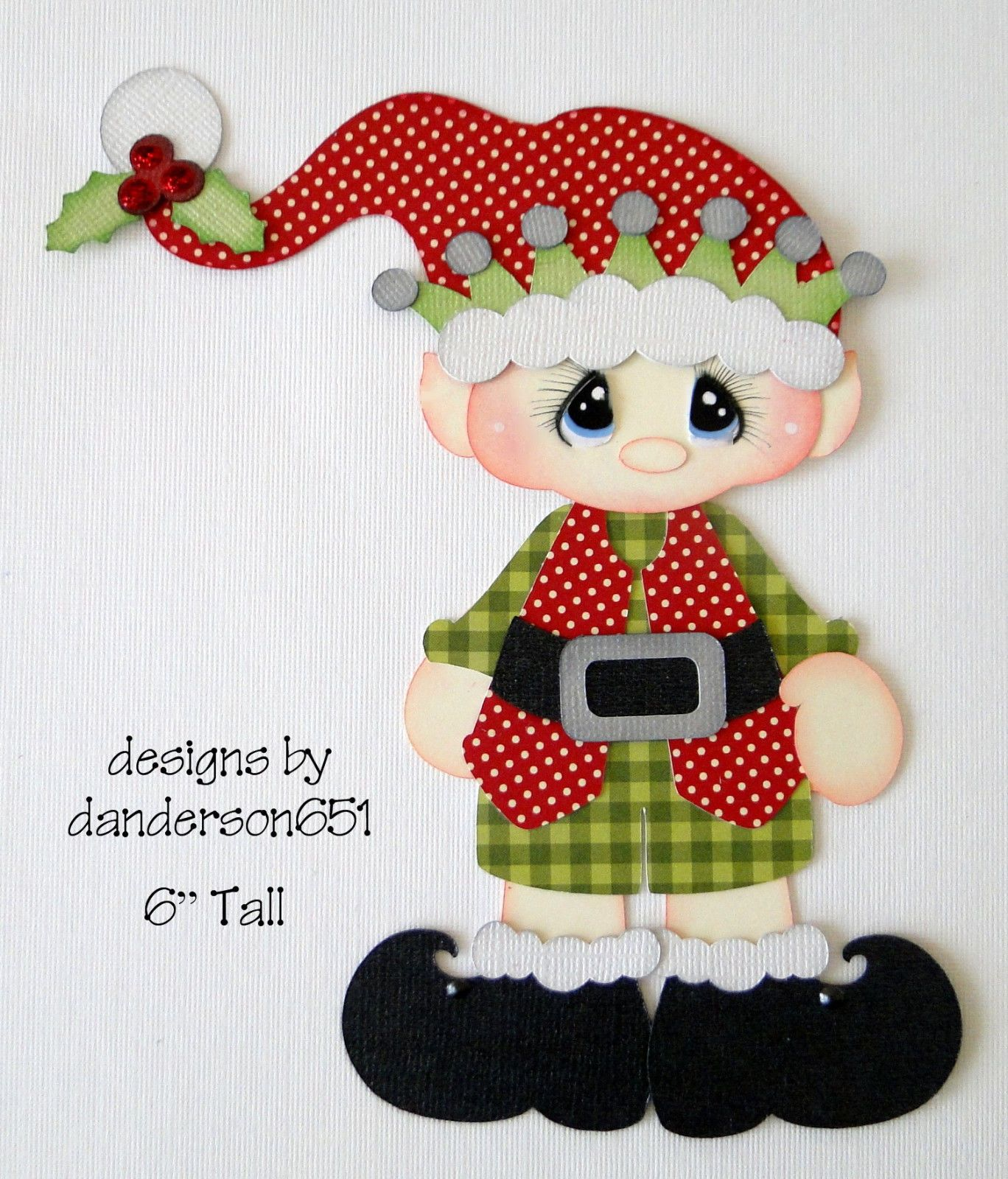Elf Boy Girl Winter Christmas Paper Piecing Premade 4 Borders Scrapbooks  Albums | eBay | Christmas scrapbook, Printable christmas coloring pages,  Christmas paper