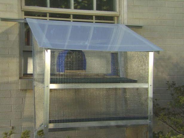 Plexiglass Window Box How To Build A Window Box For A Cat How