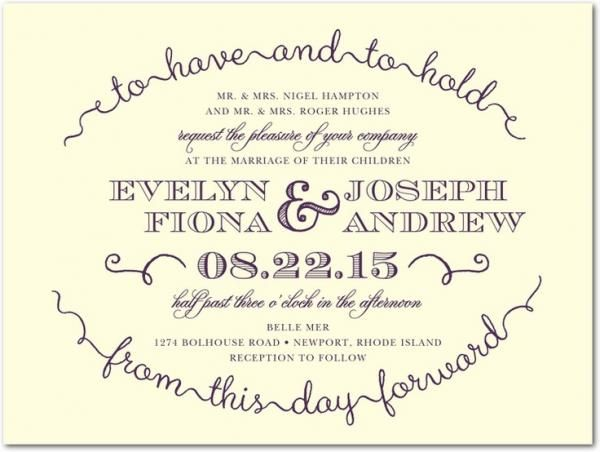 wedding invitation quotes, cute, positive, sayings, photo