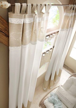 Gardinen-Serie, Wohntraum Collection , 2 Stk 69,99\u20ac Curtains - Gardinen Landhausstil Wohnzimmer