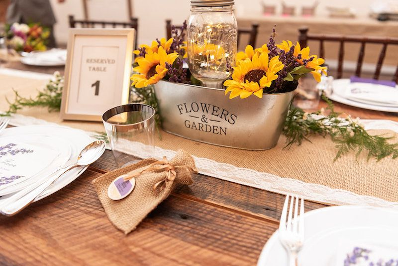 A Lovely Lavender Barn Wedding In The North Carolina Mountains