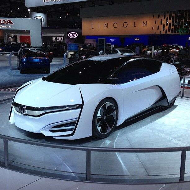 hydrogen fuel cell conceptcar from honda laautoshow fuelcell rh pinterest com