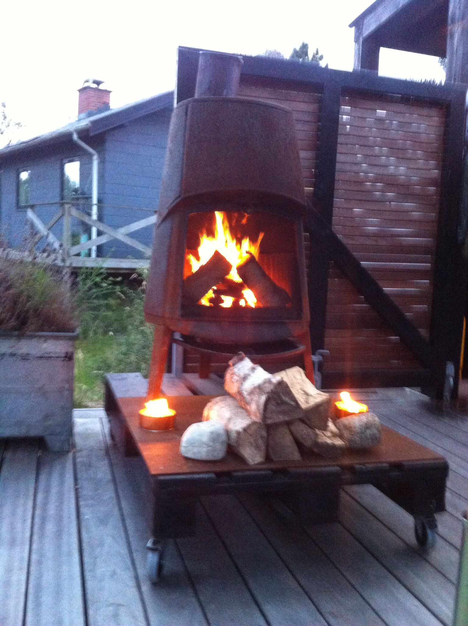 mobil fireplace by 1 1rum design sommerhus 1 1rum design contact