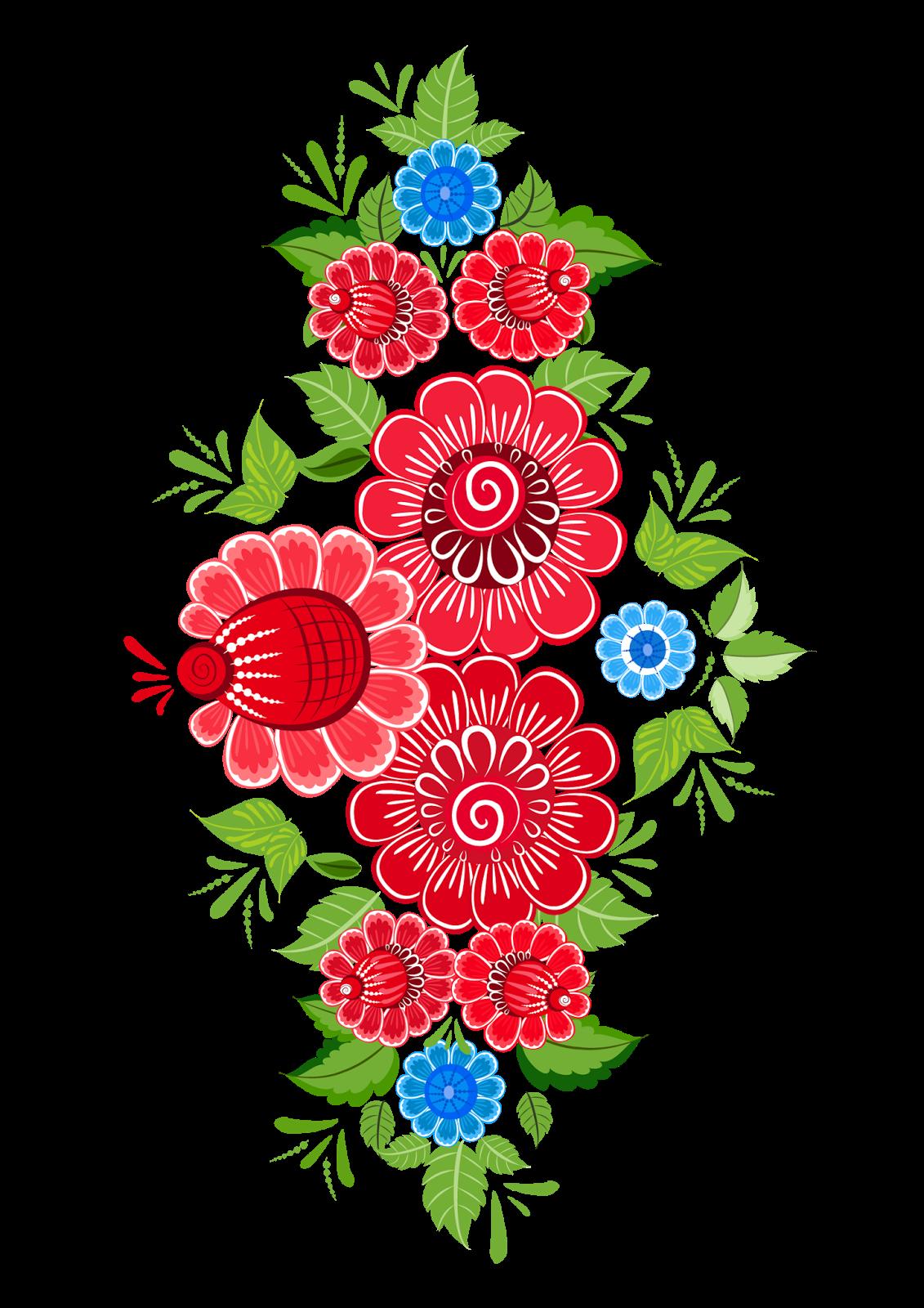 Ornament Flores Mexicanas Flores Mexicano