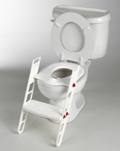 New Toddler Seat Step Toilet Chair Kid Potty Training Ladder