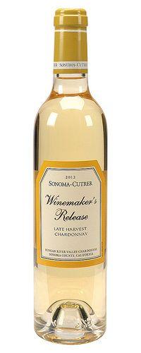 Late Harvest Chardonnay white wine