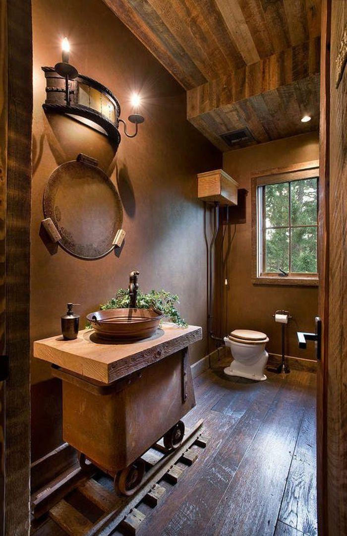 Le thème du jour est la salle de bain rétro! | Interiors & Exteriors ...