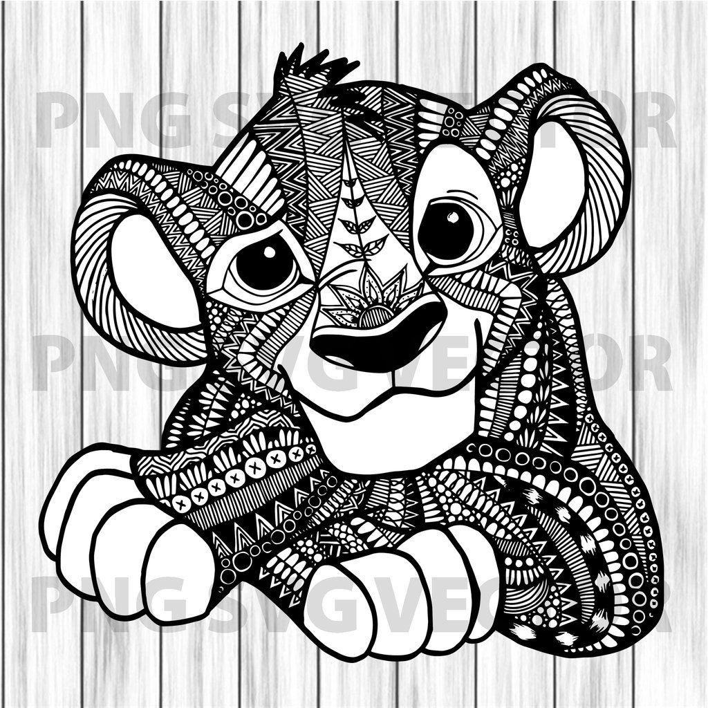 Mandala Lion King Svg Lion King File For Cricut Files For Cricut