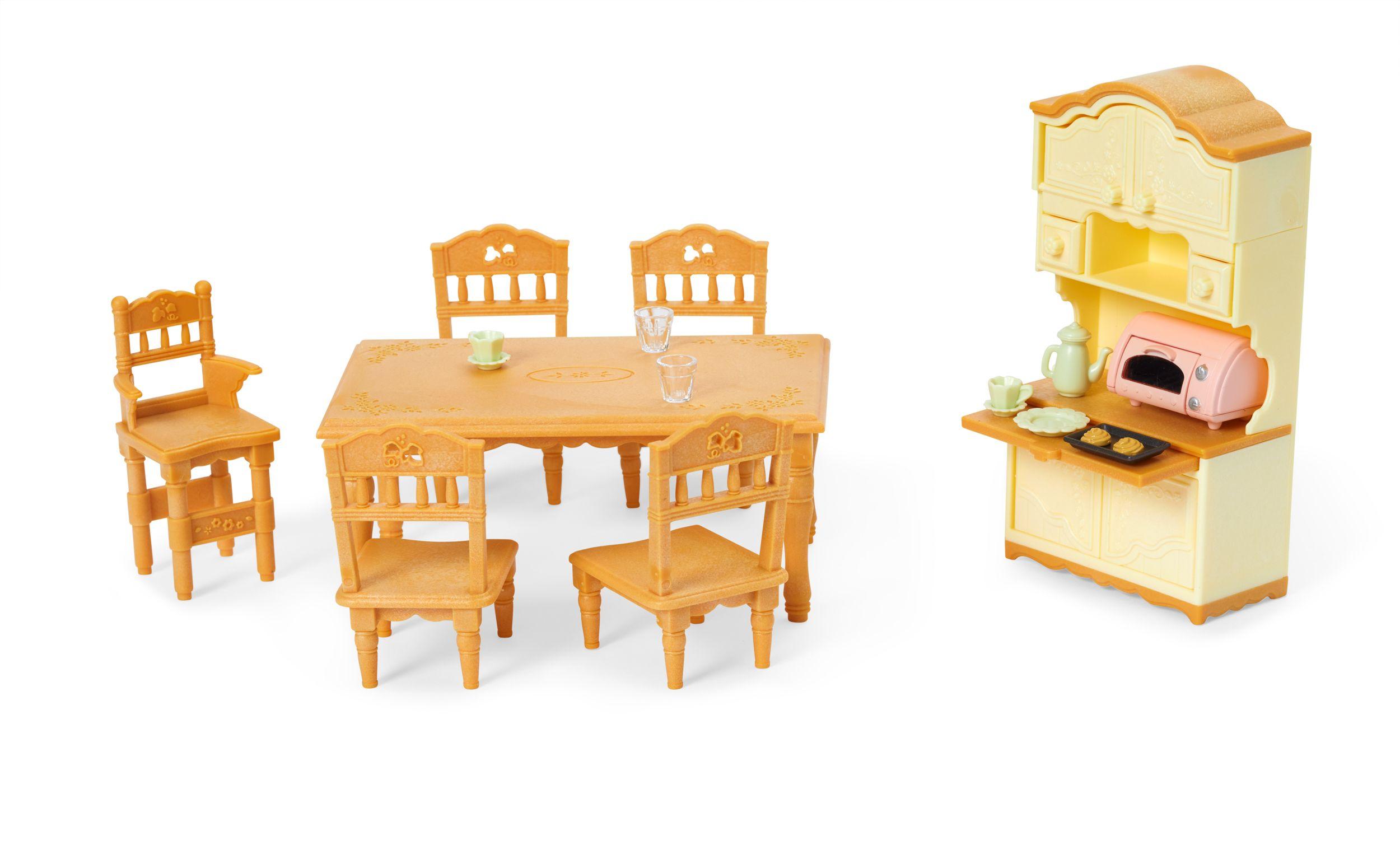 Dining Room Set Walmart Com Bright Dining Rooms Dining Room Set Sylvanian Families