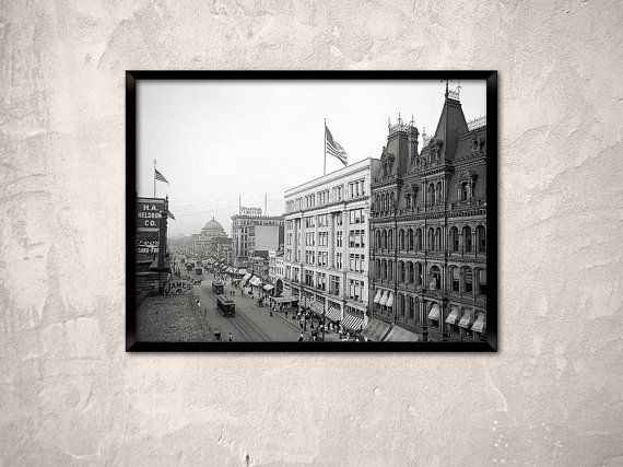 Buffalo ny year 1904 main street buffalo buffalo by chromatone