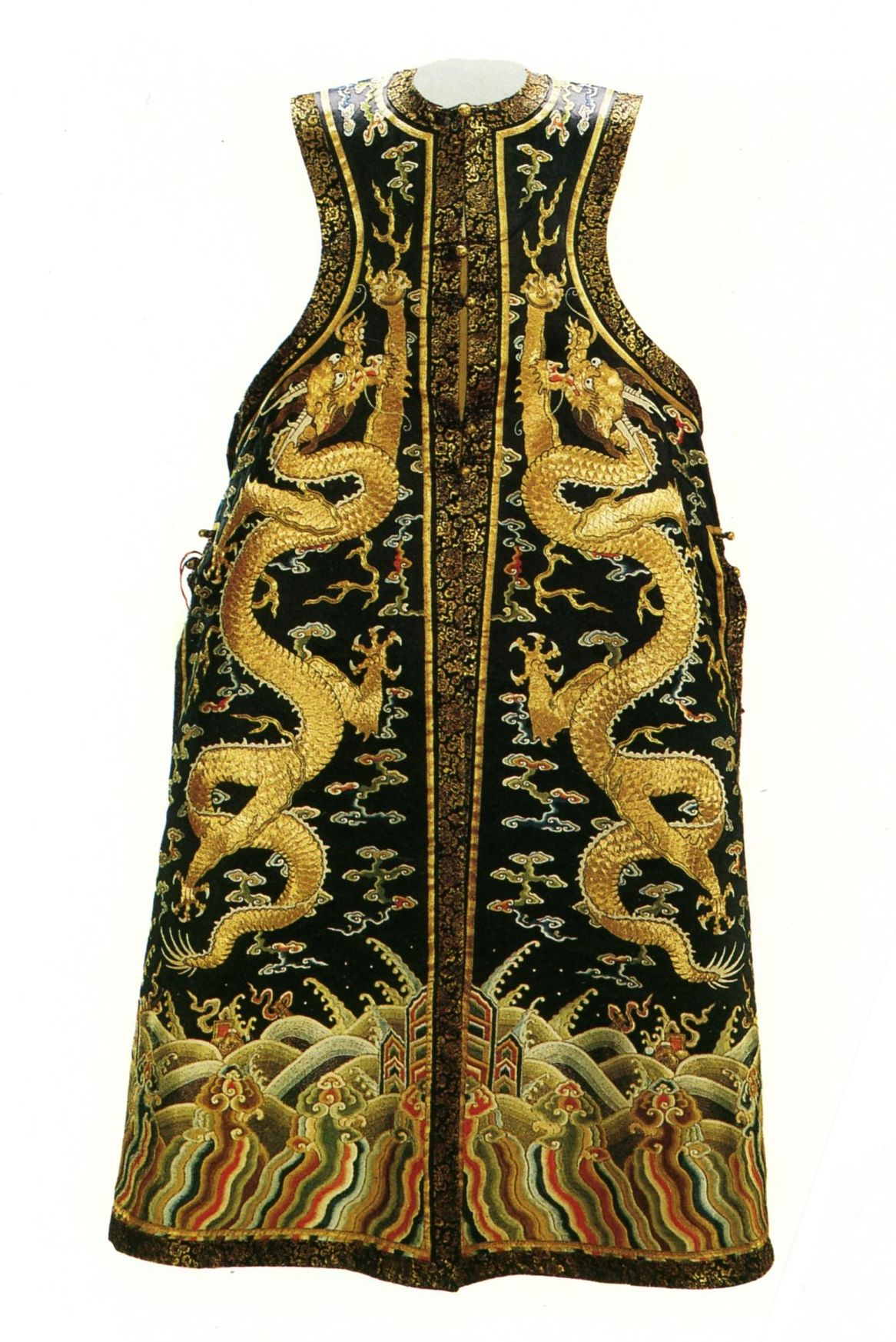Qing Dynasty Empress Stole Worn Over Her Court Dress