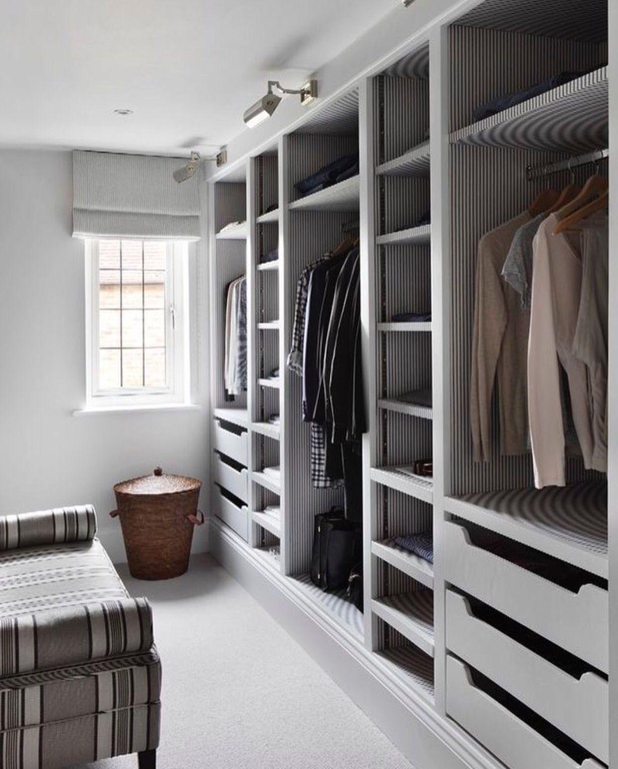Walk In Closet Grey Theme